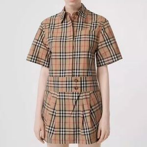 Authentic Burberry Brit Nova Check Shirt Dress 2